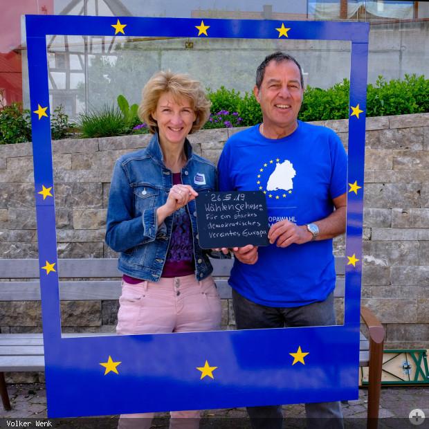 Europa-Fotorahmenaktion